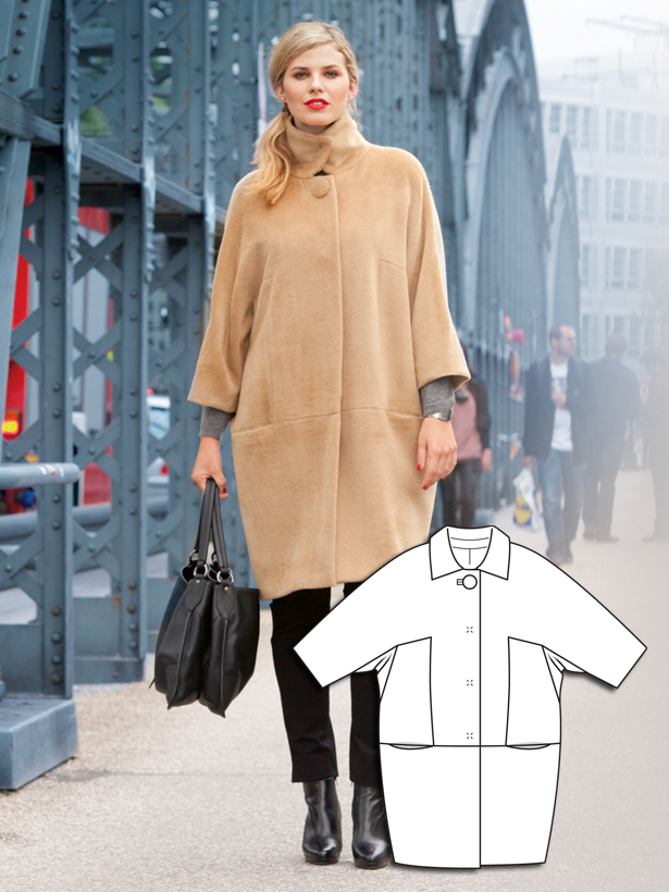 Cocoon Coats Are This Season's