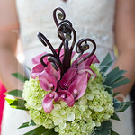 Fabulous contemproray bouquet for Lizzy