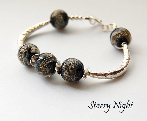 Starry Night Bracelet by gemwaithnia