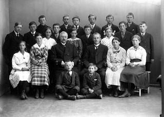 Avgangklasse Byåsen skole (1918)