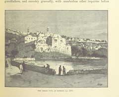 """British Library digitised image from page 333 of """"The Holy Land and the Bible. A book of Scripture illustrations gathered in Palestine, etc"""""""