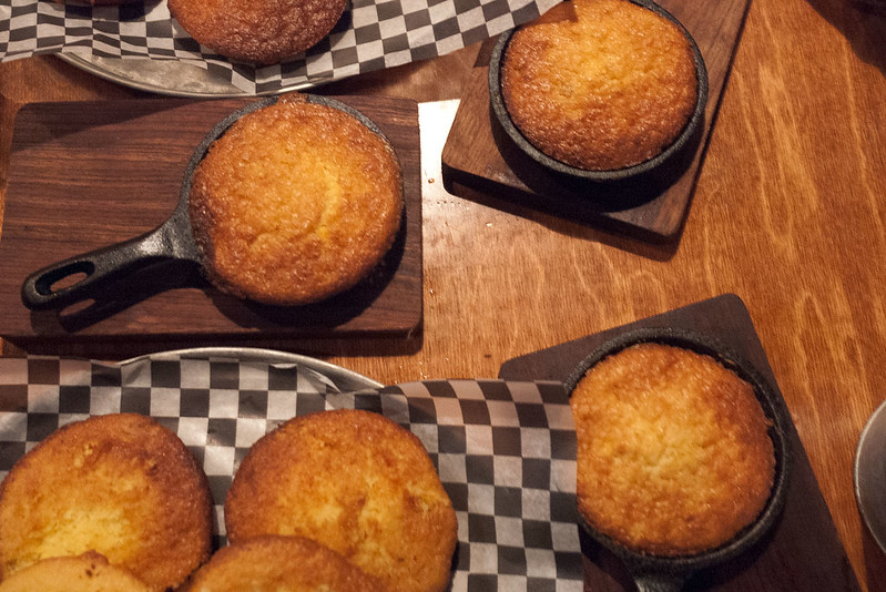 Skillet Cornbread @ Bookers BBQ & Crab Shack