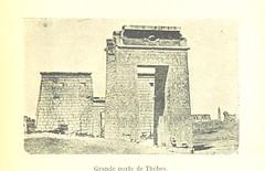 """British Library digitised image from page 301 of """"Souvenirs maritimes, 1881-1883. Journal de bord d'une campagne en Tunisie, en Égypte et dans le Levant sur le cuirassé 'le La Galissonière,' etc"""""""