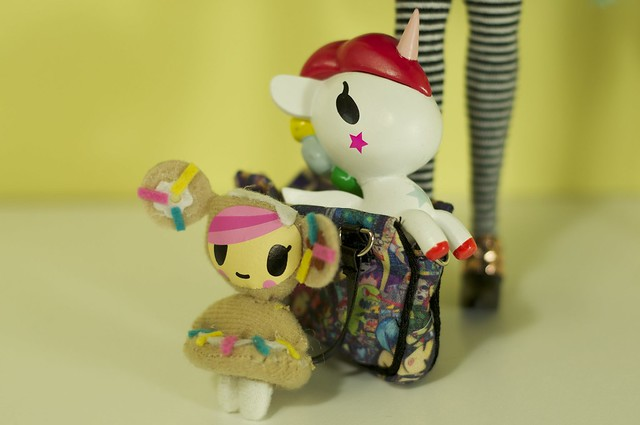 Tokidoki Luna's accessories