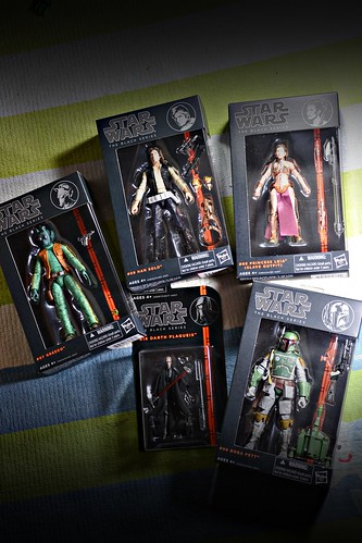 "Star Wars: The Black Series 6"" wave 2 haul..."