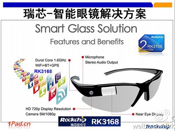 Rockchip lunettes connectées