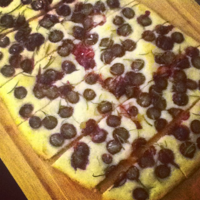 grape foccacia
