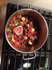 Cajun chili stew pre-tomatoes