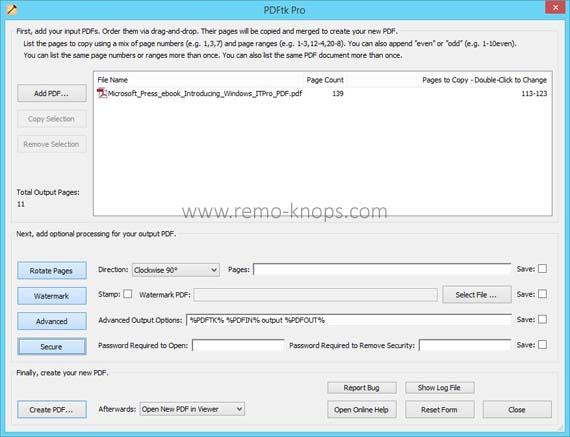 PDFtk Pro screenshot 31