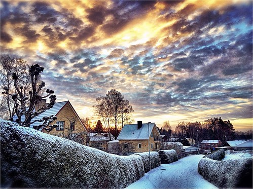 morning winter snow sunrise frost sweden schweden january swedish sverige hdr suede svensk 2014 ruotsi suècia sueco suedoise sandared schwedish