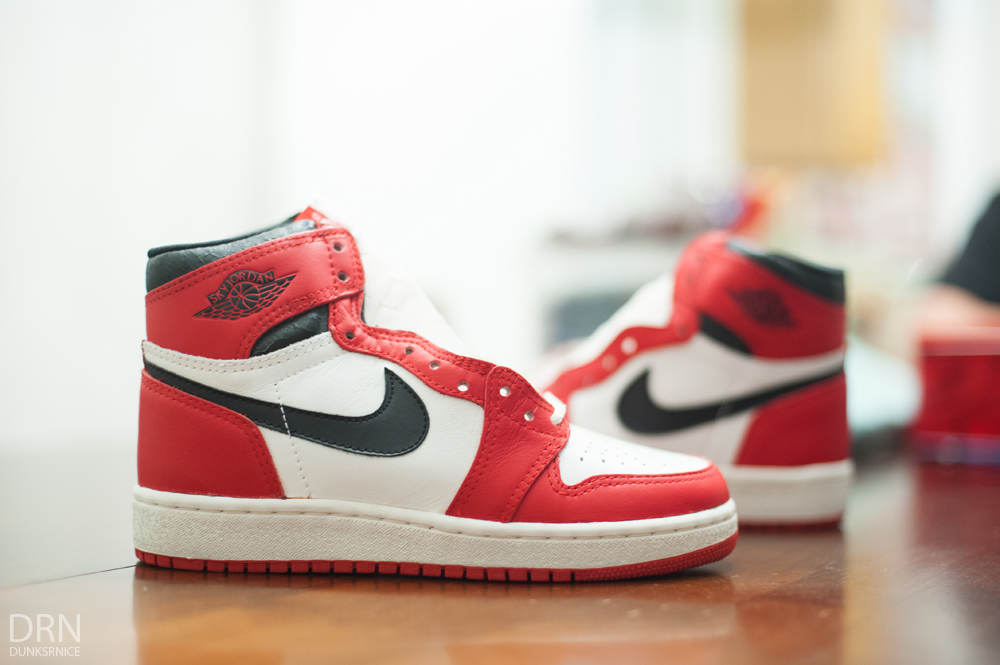 1985 Sky Jordans.