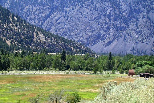 Landscape near Princeton, Similkameen region, Southern British Columbia, Canada