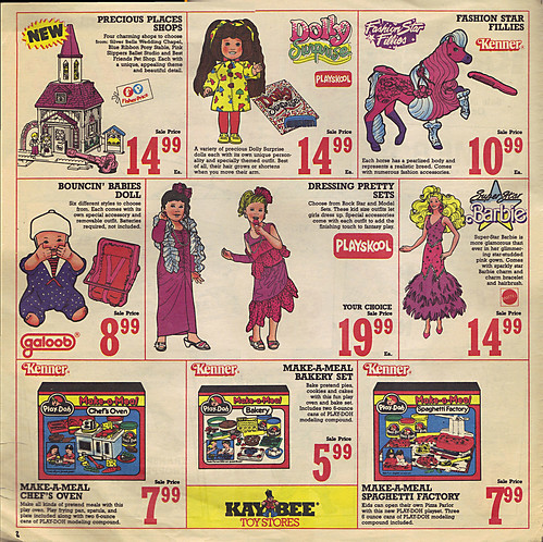 KAY•BEE TOY STORES :: Christmas in October pg.2  (( OCTOBER,8 1989 ))