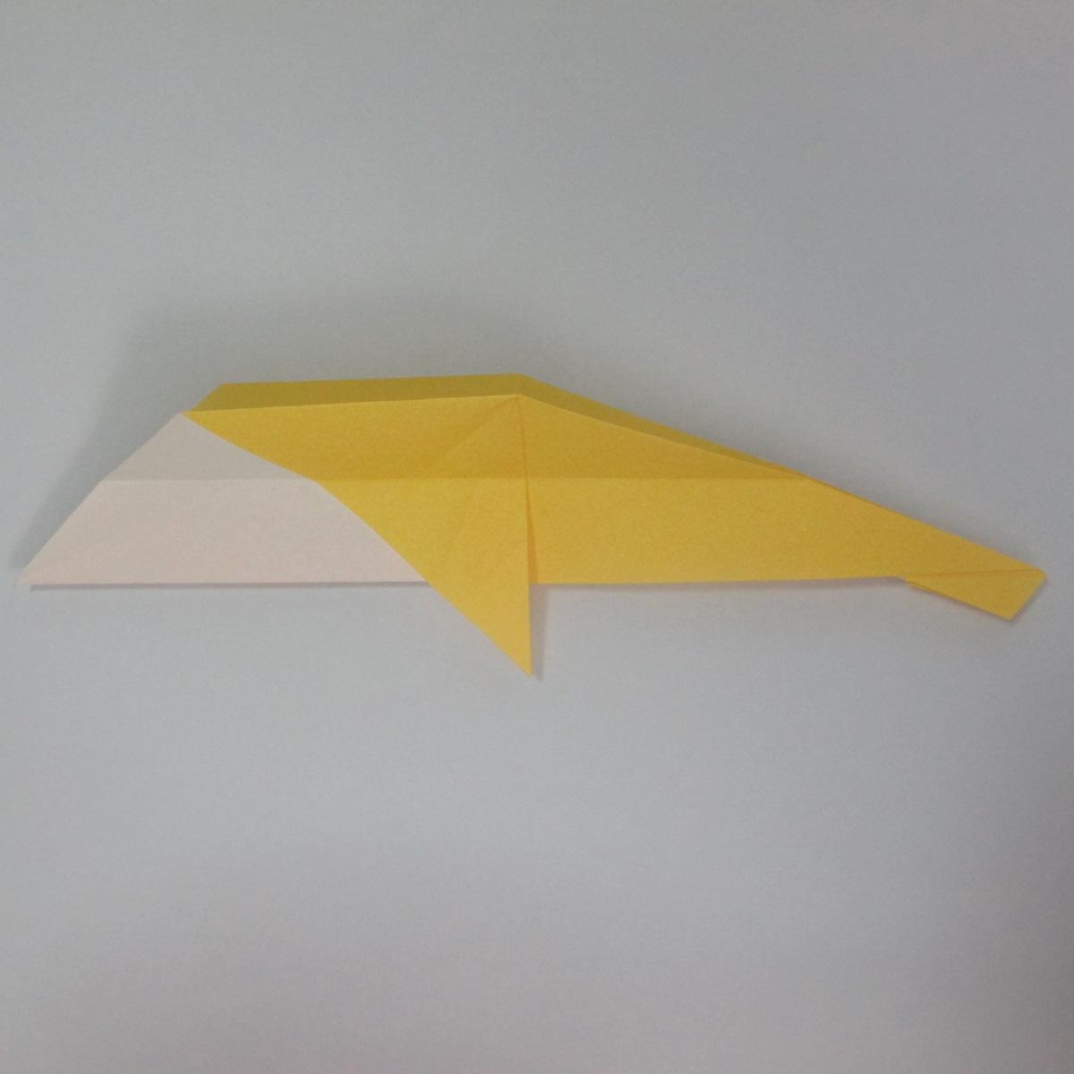 สอนวิธีพับกระดาษเป็นรูปลูกสุนัขยืนสองขา แบบของพอล ฟราสโก้ (Down Boy Dog Origami) 047