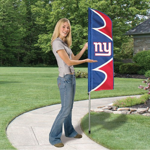 New York Giants Short Feather Flag