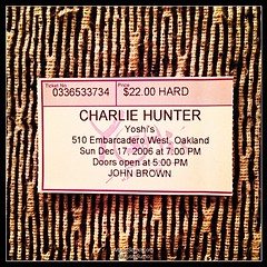 Charlie Hunter - 12/17/06 #tbt #throwback #throwbackthursday