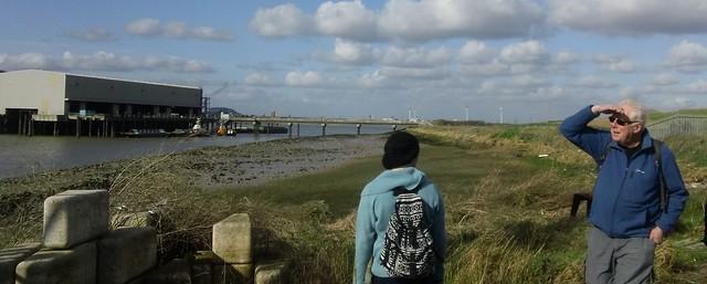 """I see no ships!"" Thames near Rainham"