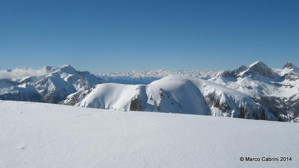 Cima Undici patagonica in Val di Fassa