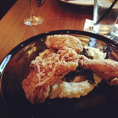 Gluten free fried chicken, hell yes.