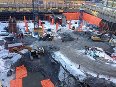 Construction update of @RideauCentre