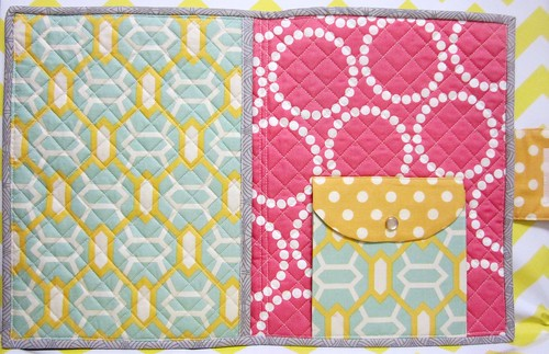 Patchwork Please: iPad Cover inside