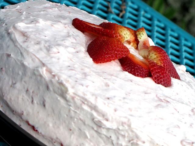 Torta di Fragole e Yogurt Greco