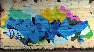a1one Graffiti on Wall -