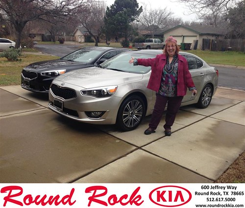 Thank you to Celia Moore on your new 2014 #Kia #Cadenza from Todd Estes and everyone at Round Rock Kia! #NewCar by RoundRockKia