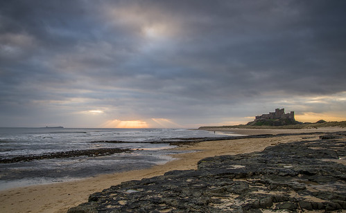 Bamburgh at dawn