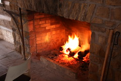 masonry oven, wood, fireplace, fire, hearth,
