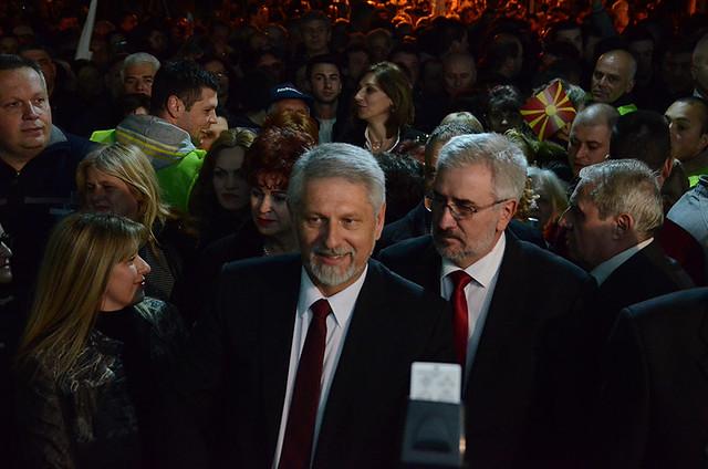 Кликни за фотогалерија - Коалицијата ГРОМ стартуваше во претседателската трка