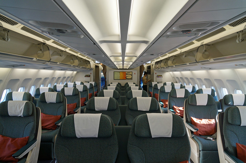 Cathay Pacific Regional Business Class Cabin