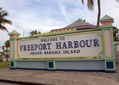 """'Welcome to Freeport Harbour"""""""