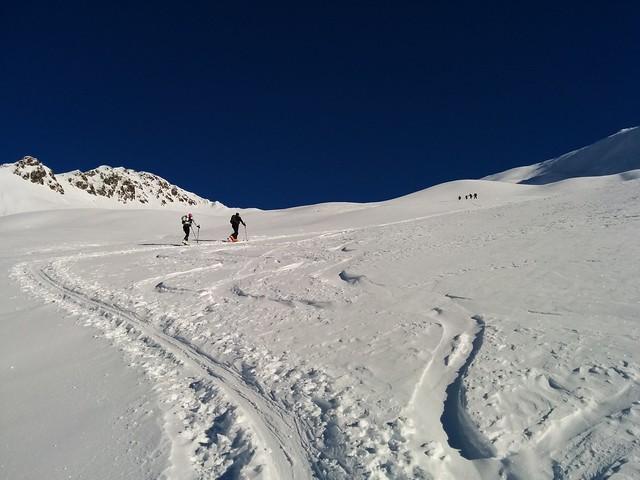 Aufstieg Kreuzspitze, was für ein Traumwetter!