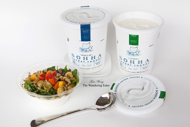 Sohha Savory Yogurts and my Za'atar Bliss Cup