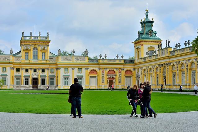Wilanowie Palace. Warsaw. Poland
