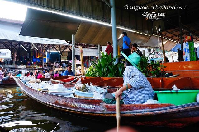 Day 4 Bangkok, Thailand - Damnoen Saduak Floating Market 03
