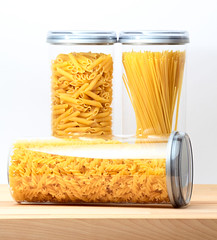Pasta in a jar by Alessio Furlan