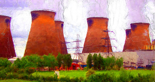Power Station Digital art
