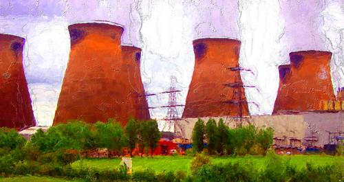 Power Station Digital art