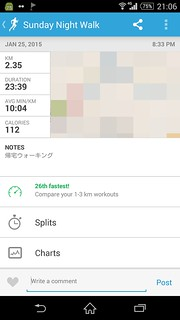 20150125_RunKeeper(Walking)