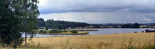 summer panorama lake eh finland landscape geotagged august fin orivesi stitched 2011 pirkanmaa 201108 20110809 torittu geo:lat=6168303300 geo:lon=2442398100 laahus