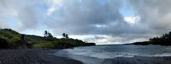 Hana - Waianapanapa Black Sand Beach