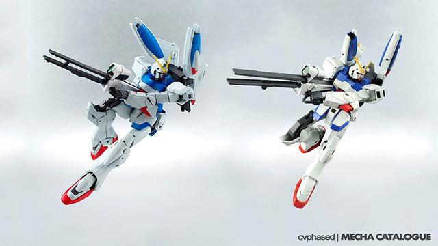 V-Dash Gundam - ROBOT Damashii VS. HGUC