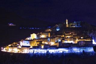 Montefortino by night
