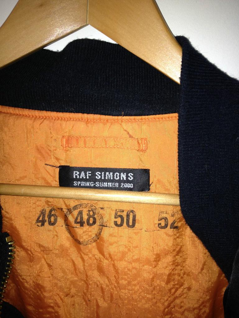 Raf Simons Bomber 2000