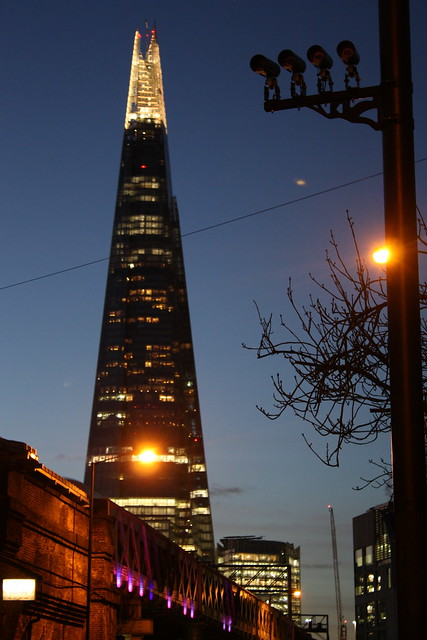how to go up the shard