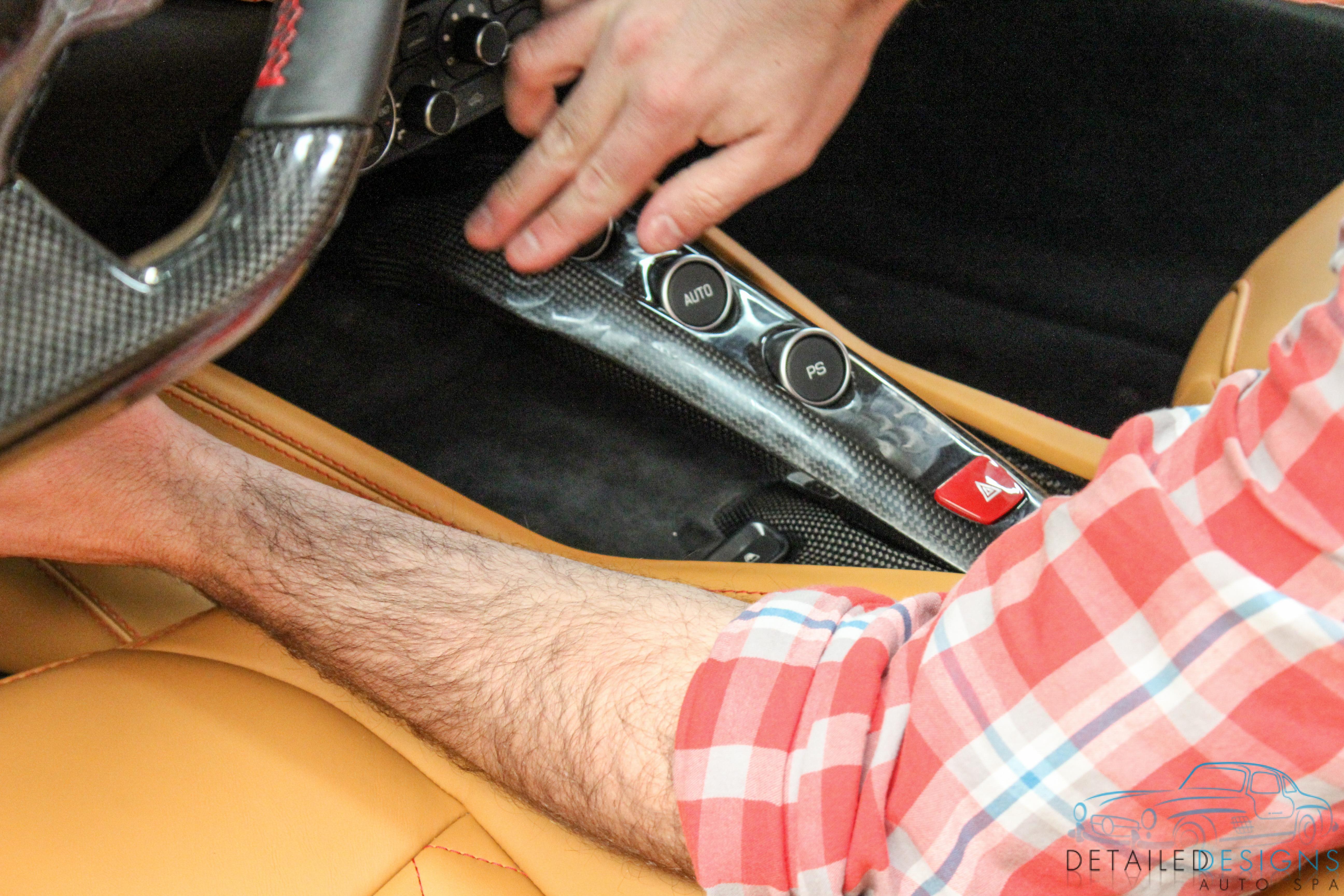 Ferrari Detailing Atlanta