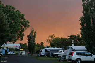 Stormy Sunset in Dubbo