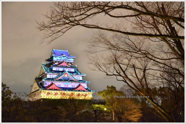 大阪城3D燈光秀2015021-DSC_3953